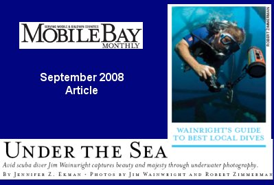 Jim Wainwright featured in Mobile Bay Monthly Magazine